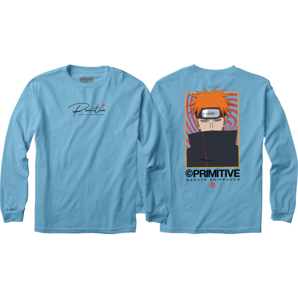 Primitive Skateboarding Know Pain Carolina Blue Men's Long Sleeve T-Shirt - Small