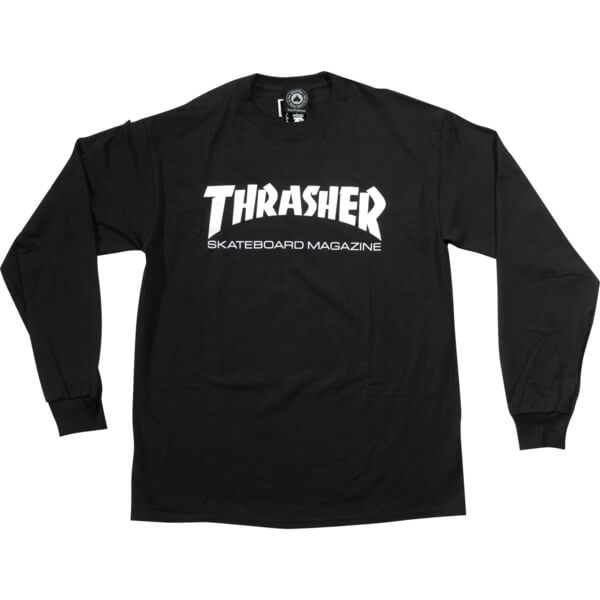 36e25b8da68 Thrasher Magazine Skate Mag Men's Long Sleeve T-Shirt - Warehouse ...