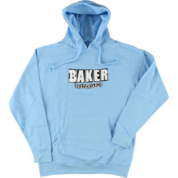Baker Skateboards Brand Logo Lite Blue Men's Hooded