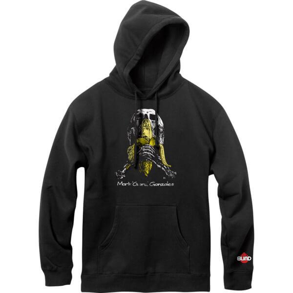 Blind Skateboards Gonz Skull And Banana Men's Hooded Sweatshirt