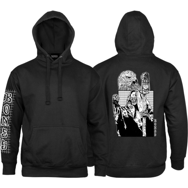 Bones Wheels Night Shift Men's Hooded Sweatshirt