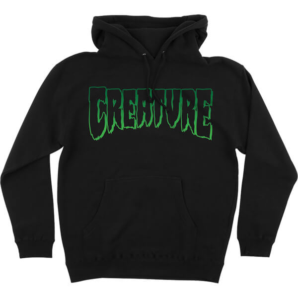 Creature Skateboards Logo Outline Men's Hooded Sweatshirt