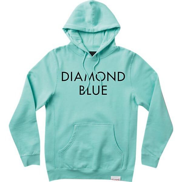 Diamond Supply Co Blue Diamond Blue / Black Hooded ... - photo#47