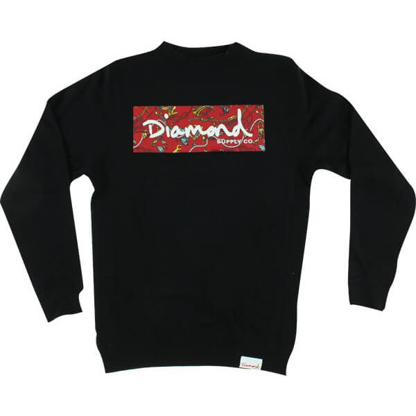 Diamond Low Life Box Crew Sweatshirt
