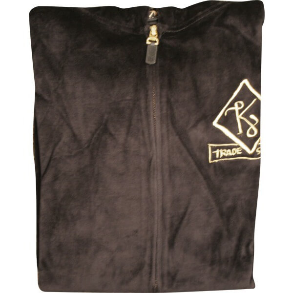 Krooked Veluxury Zip Hooded Sweatshirt