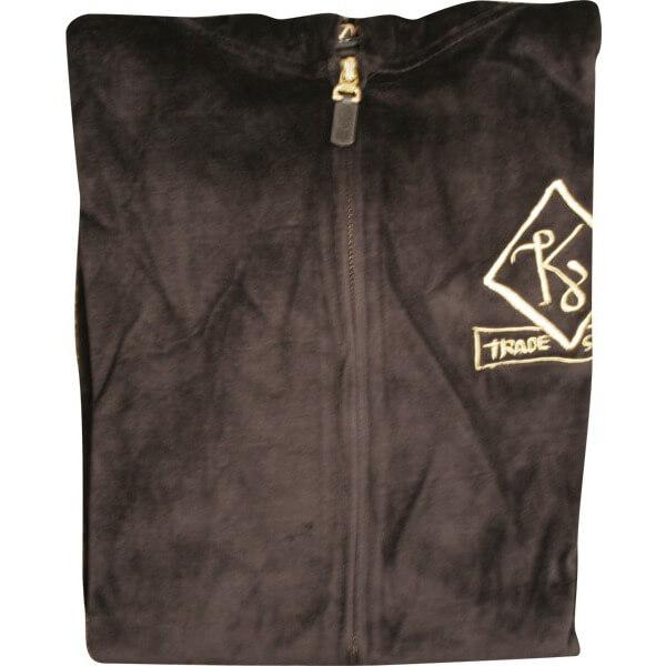 Krooked Veluxury Zip Hooded Sweatshirt