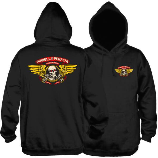 Powell Peralta Winged Ripper Men's Hooded Sweatshirt