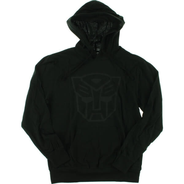 Primitive Skateboarding Autobots Black Men's Hooded Sweatshirt - Medium