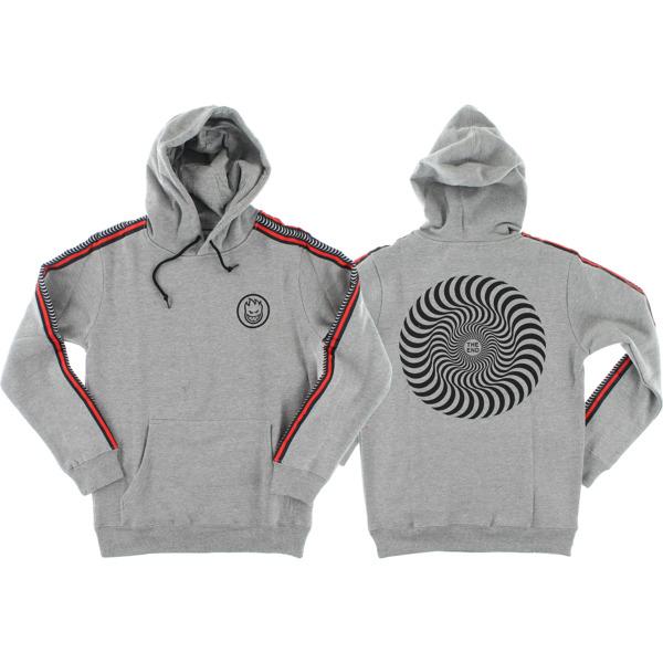 Spitfire Wheels Classic Swirl Stripe Men's Hooded Sweatshirt