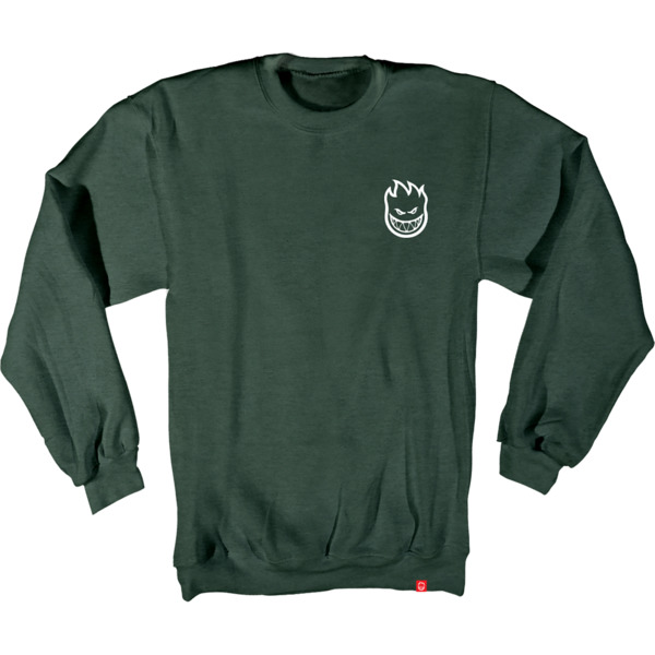 Spitfire Wheels Lil Bighead Emblem Men's Crew Neck Sweatshirt