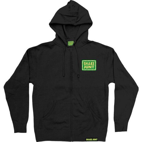 Shake Junt Box Logo Zip Hooded Sweatshirt