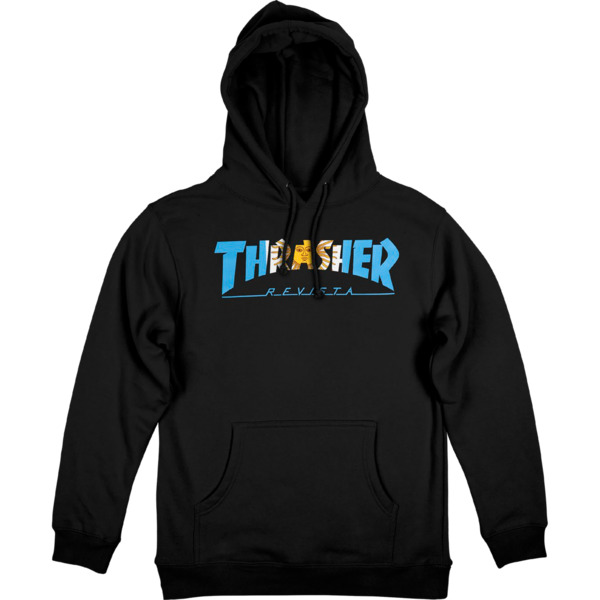 Thrasher Magazine Argentina HD Men's Hooded Sweatshirt