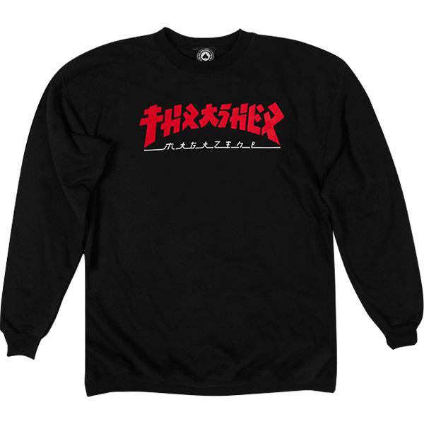 Thrasher Magazine Godzilla Men's Crew Neck Sweatshirt