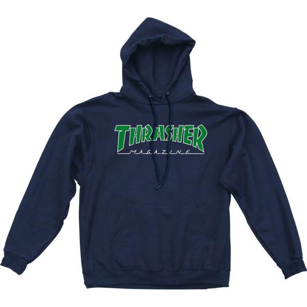 Thrasher Magazine Outlined Men's Hooded Sweatshirt