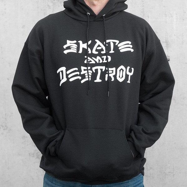Thrasher Magazine Skate and Destroy Men's Hooded Sweatshirt