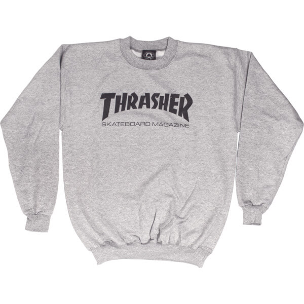 Thrasher Magazine Logo Men's Crew Neck Sweatshirt