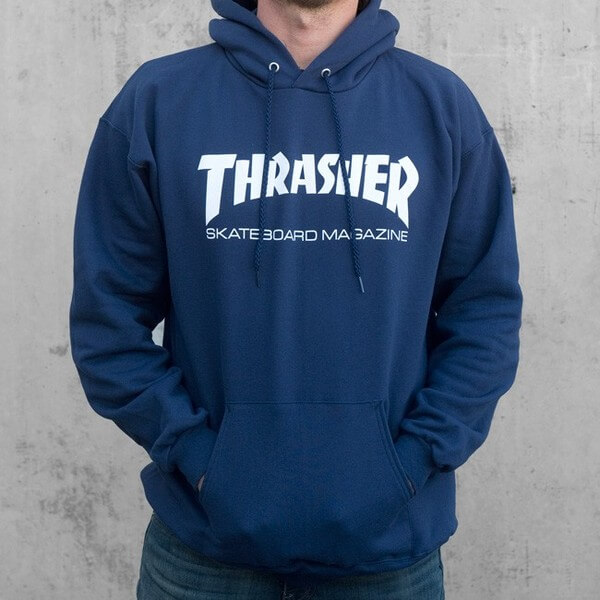 Thrasher Magazine Logo Skate Mag Men's Hooded Sweatshirt