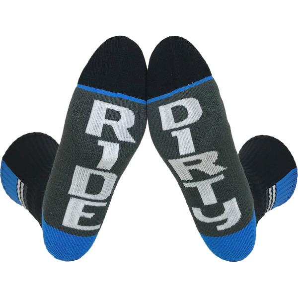 Fuel Clothing Ride / Dirty Apex Crew Socks - Standard