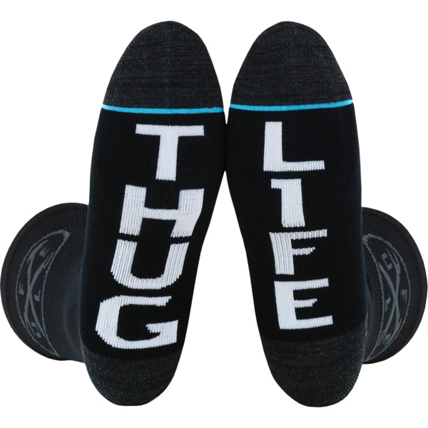 Fuel Clothing Iron Cross - Thug / Life Crew Socks - Standard