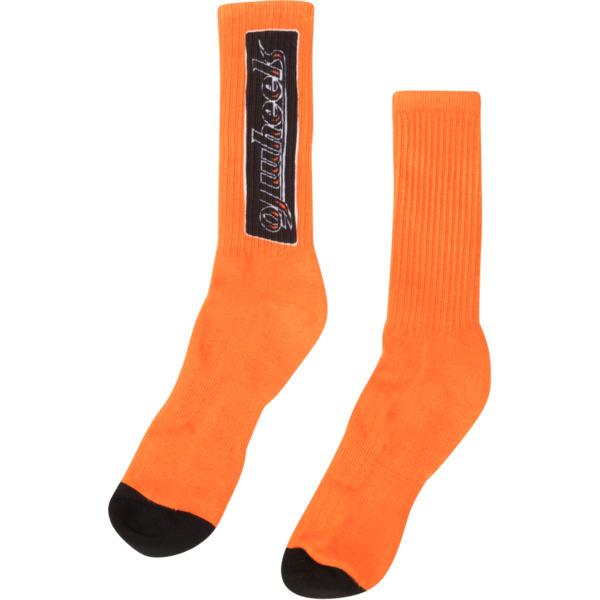OJ Wheels OJ Bar Orange Crew Socks - One size fits most