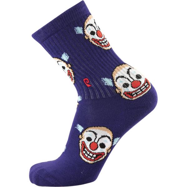Psockadelic Clown Crew Socks - One size fits most