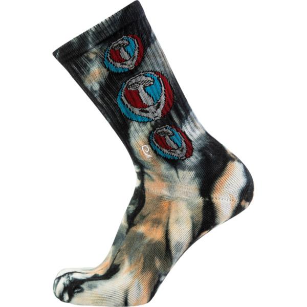 Psockadelic Mush Head Tie-Dye Crew Socks - One size fits most