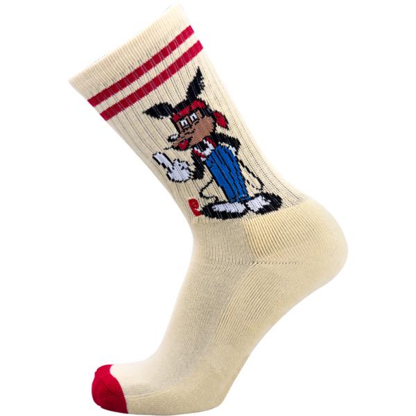 Psockadelic Ricky Mouse Crew Socks - One size fits most
