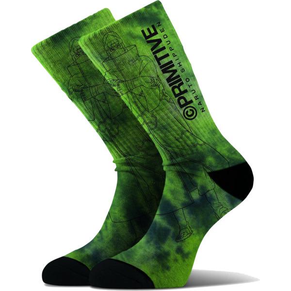 Primitive Skateboarding Kakuazu Green Crew Socks - One size fits most