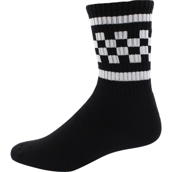 Socco Socks Black with Unisex Crew Tube Socks