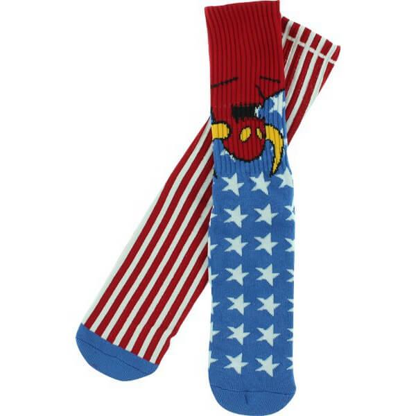 Toy Machine Skateboards American Monster Crew Socks