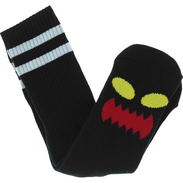 Toy Machine Skateboards Monster Face Crew Socks
