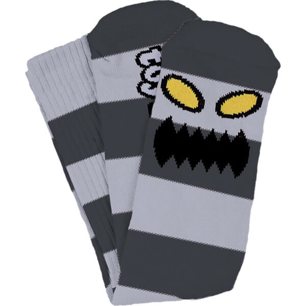 Toy Machine Skateboards Monster Big Stripe Crew Socks