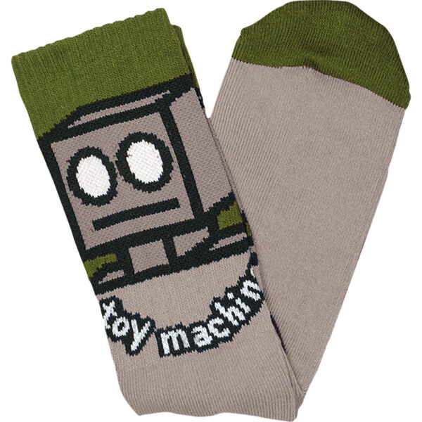 Toy Machine Skateboards Robot Crew Socks