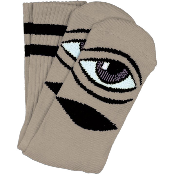 efdd66f5001ad Toy Machine Skateboards Sect Eye Camel Crew Socks - One size fits most -  Warehouse Skateboards