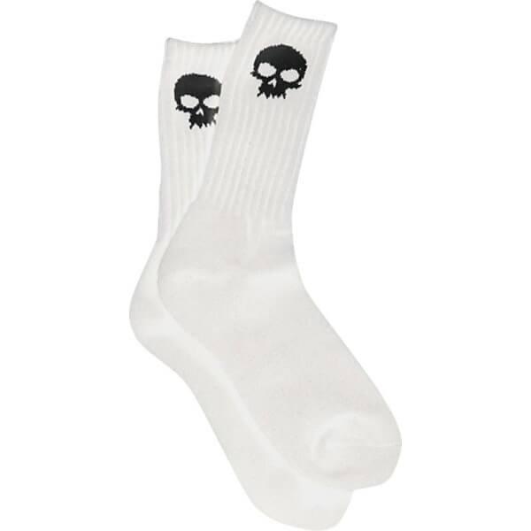 Zero Skull Socks Mens Crew Socks