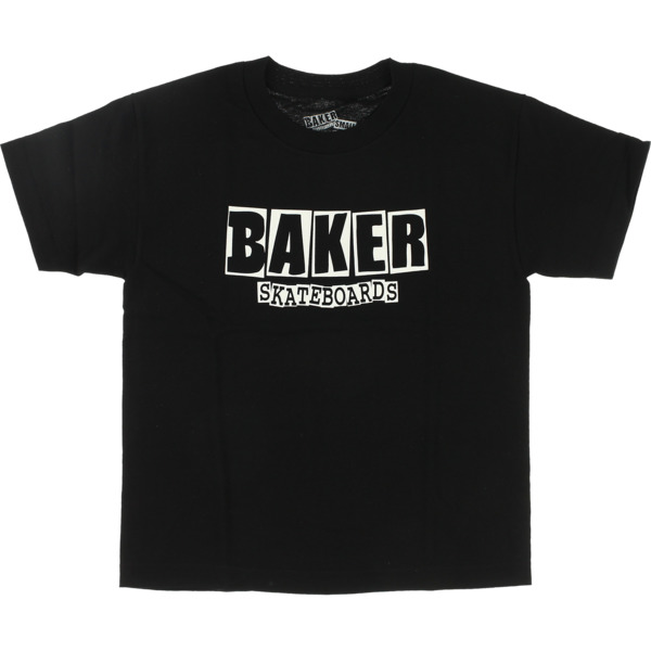 Baker Skateboards Brand Logo Boys Youth Short Sleeve T-Shirt