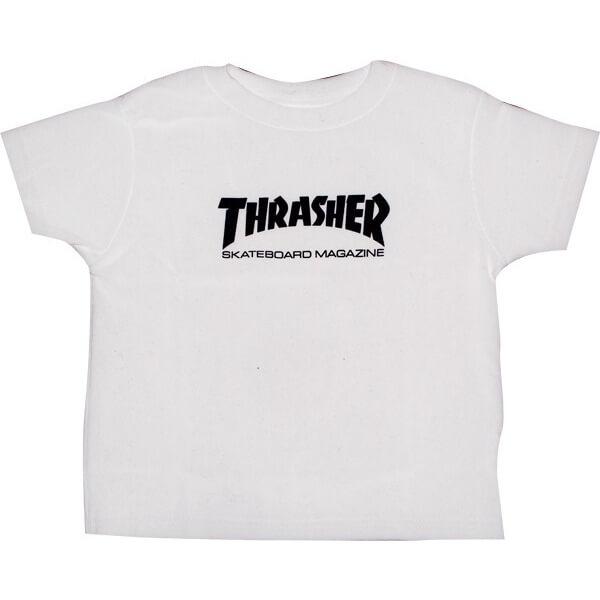 200750150f82 Thrasher Magazine Mag Logo Boys Youth Short Sleeve T-Shirt ...