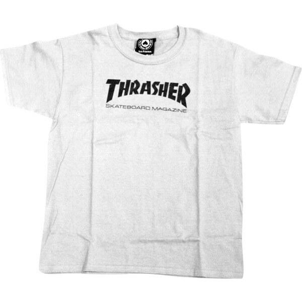 Thrasher Magazine Mag Logo Boys Youth Short Sleeve T-Shirt
