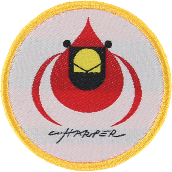 Habitat Skateboards Harper Cardinal Patch