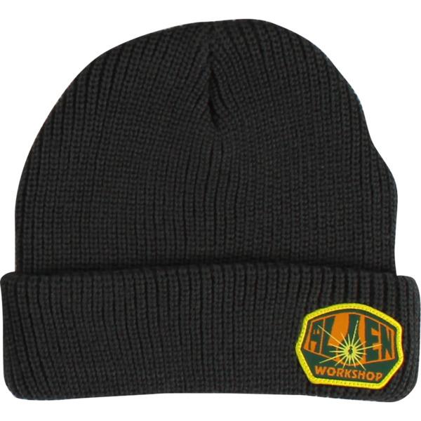 Alien Workshop OG Logo Grey Beanie Hat - One size fits most