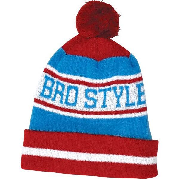 Bro Style Home Team POM Beanie