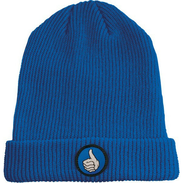 Bro Style Thumb Patch Cuff Beanie