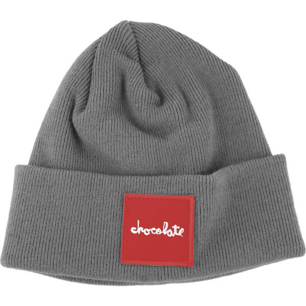 Chocolate Skateboards Red Square Fold Beanie Hat