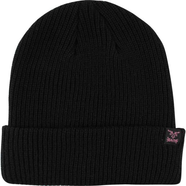 Element Skateboards Bam Heartagram Flint Black Beanie Hat