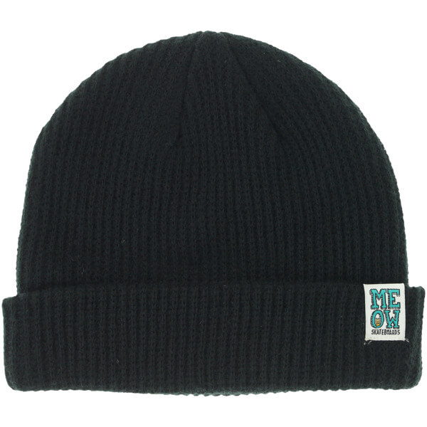 Meow Skateboards Stacked Dock Beanie Hat