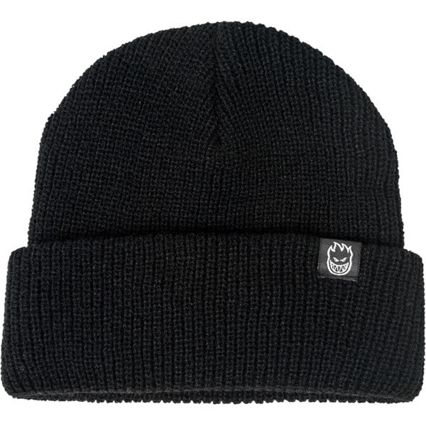 Spitfire Wheels Bighead Clip Label Black Beanie Hat