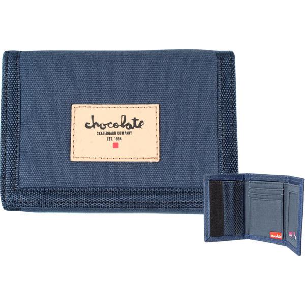 Chocolate Skateboards Chunk Est. Navy Wallet