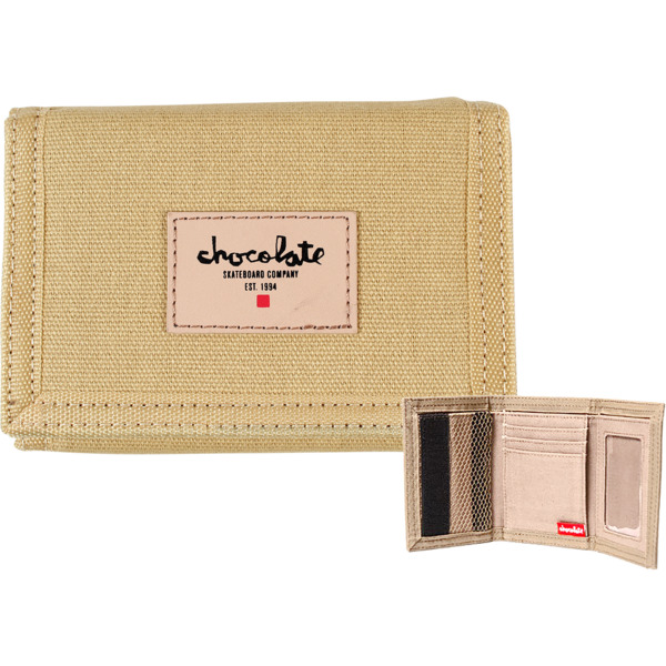 Chocolate Skateboards Chunk Est. Khaki Wallet
