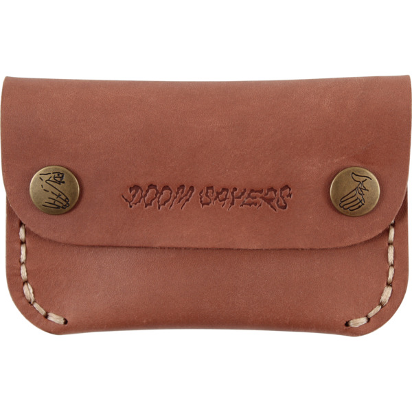 Doomsayers Club Corp Guy Slim Brown Leather Wallet