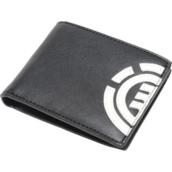 Element Skateboards Daily Flint Black / White Wallet